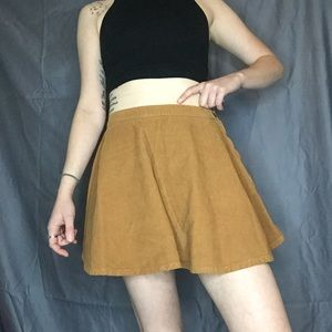 Corduroy skirt 👀 from American Apparel